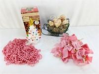 Pink Christmas Lot