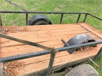 4'x8' homemade trailer w/ramps
