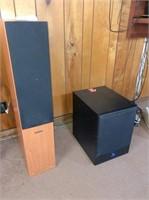 8-Fluance speakers:& Yamaha HTR 5063 receiver