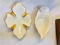 Pr. lenox porcelain tidbit bowls