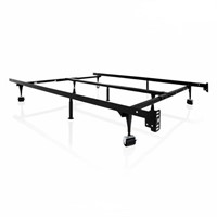Universal Tri-Support Heavy Duty Metal Bed Frame