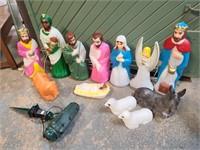 Empire Nativity Blow Mold Set