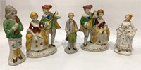 5 Made in Occupied Japan Figures