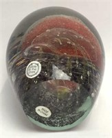 Art Glass Paperweight by SP