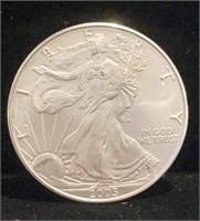 2005 American Silver Eagle $1 Coin
