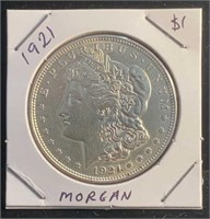 1921 Morgan $1 Coin