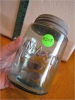 Antique Mason Pint Jar with Cap