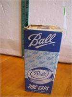 Vintage Full Box of Ball Zinc Jar Caps