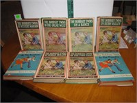8 Vintage Bobbsey Twins Books with Dust Covers