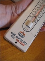 Vintage Standard Oil Thermometer (Working)