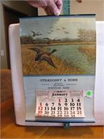 1941 Advertising Calendar Otradosky & Sons