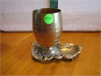 """Solid Brass India Pencil Holder 6"""" X 5&1/4"""""""