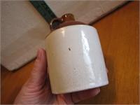 "Vintage Stoneware Jug 4&1/4"""