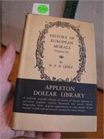 Antique 1894 History of European Morals Volume II
