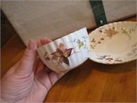 Vintage Royal Chelsea Porcelain Cream, Sugar &
