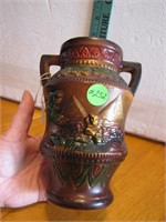 Vintage Norleans Egyptian Pottery Vase 6&3/4""