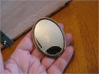 Vintage Haberman's Hastings, Nebr Pocket Mirror