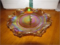 Vintage Indiana Carnival Glass Plate 10""