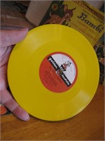 3 Vtg Colored 45 Records from Walt Disney Movies