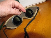 Vintage Cutting Welding Goggles Nice Shape