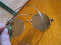 Antique Wire Frame Moon Sunglasses