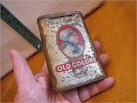 Vtg Bagley's Old Colony Mixture Tobacco Tin