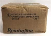 Remington 9mm Luger Ammunition 1000 centerfire