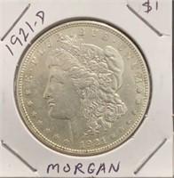 1921-D Morgan $1 Coin