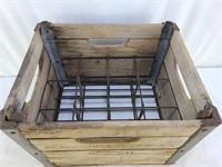 Antique Petersburg Creamery Crate