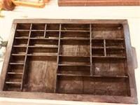 Antique Hamilton Pring Tray drawer