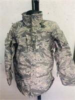 Medium Regular Camouflage Military rain jacket