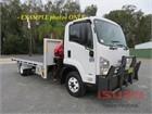 2010 Isuzu FRR 500 AMT Crane Truck
