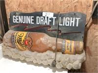 Miller Beer light (works)