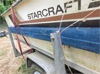 17' Star Craft boat, 112 HP Johnson motor, life