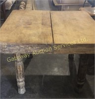 3.6 x 3.6 Oak Table No Chairs