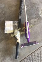 Swiffer Wet Jet and Curtain Rod....