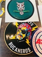 Assorted Military Stickers Aviation lot