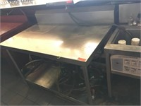 S/S Work Table w/ BS - 48 x 30
