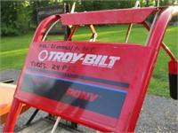 Troy-Bilt Pony tiller (5hp briggs) works