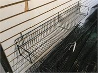 Lot of 25 Slat Board Wire Wall Baskets