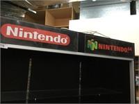 Nintendo/ Nintendo 64 Lighted Display Case