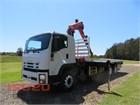 2009 Isuzu FVZ 1400 Auto Crane Truck