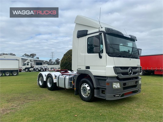 2012 Mercedes Benz Actros 2644 Wagga Trucks - Trucks for Sale