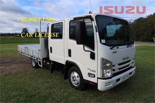 2017 Isuzu NNR 45 150 Crew Used Isuzu Trucks - Trucks for Sale