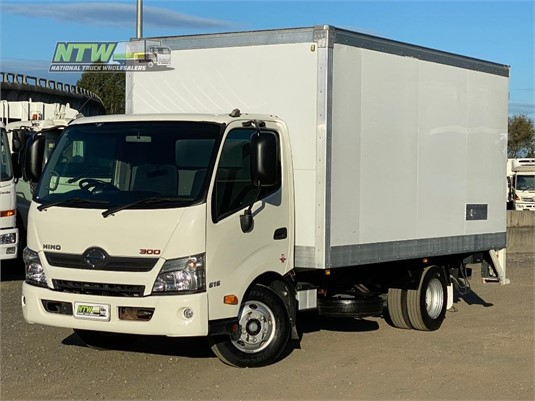 2016 Hino 300 616 National Truck Wholesalers Pty Ltd - Trucks for Sale