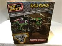 Large Radio Control Grave Digger NIB