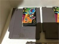 (8) Vintage Video Games