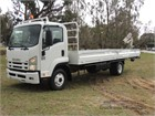 2008 Isuzu FRR 500 Long Table / Tray Top Drop Sides