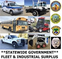 6/11/20 6pm-Statewide Government Fleet & Industrial Surplus
