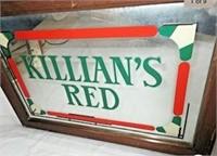 Killians Red Beer advertising mirror